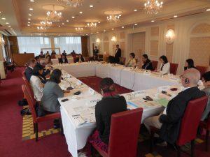 グローバル・ファンド新事務局長ピーター・サンズ氏と市民社会との対話を開催