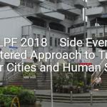 【報告】HLPFサイドイベント「結核への人間中心のアプローチ」
