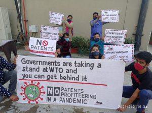 WTO知財免除提案、途上国の支持広げる